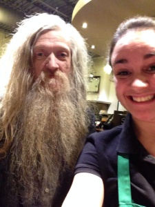 Day 26: Take a picture with a guy who has a really great beard.