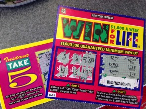 My winning ticket!!