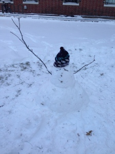 Day 22: Build a snowman...as an adult.