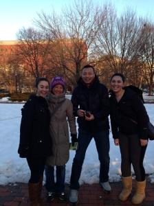 Friends from Beijing.
