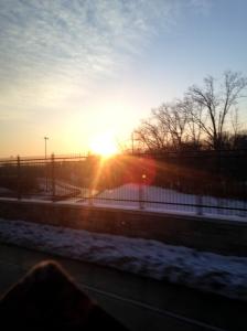 Last DC sunrise.