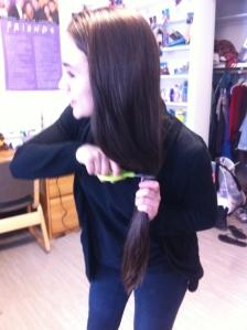 Day 72: Cut my own hair.