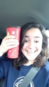 Day 83: Drink a coffee as big as my face.